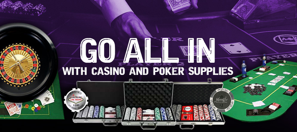 Poker and Casino Supplies
