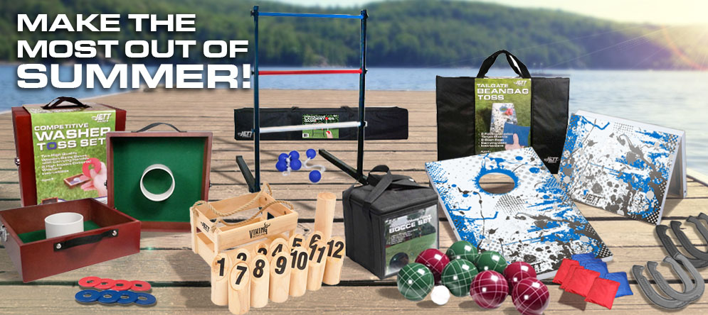 Jett Outdoor Games - Make The Most Out of Summer