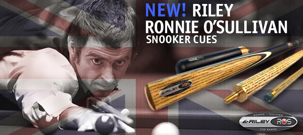 Riley Ronnie O\'Sullivan Snooker Cues