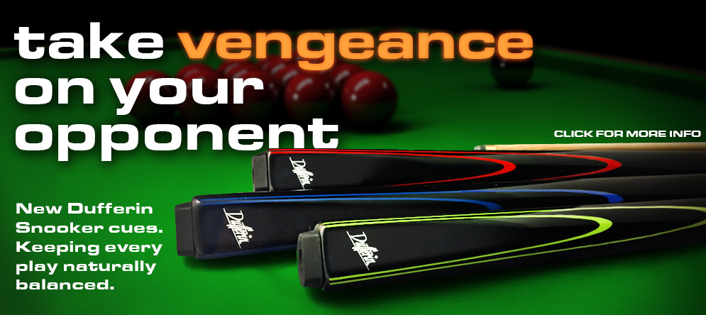 Dufferin Vengeance Snooker Cues