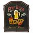 Jett Vintage Pub Fine Beer Dart Cabinet
