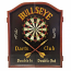 Jett Vintage Pub Bullseye Dart Cabinet