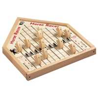 Horse Race Wooden Game