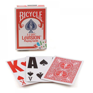 Single Deck Bicycle E-Z See Lo Vision Cards