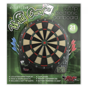 Shot! Wild Card Electronic Dartboard Set