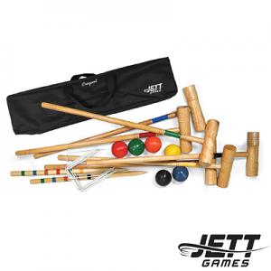 Jett 6 Player Tournament Croquet Set in Canvas Bag