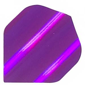 Polyester Foil Flights - Purple