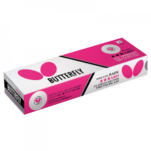Butterfly 3-Star A40+ Ball - 12 Pack