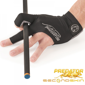 Predator Second Skin Billiard Glove - Grey