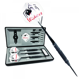 Black Widow 95% Knurled Grip Dart Set