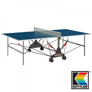 Kettler Stockholm Outdoor Blue Table Tennis Table