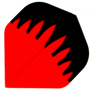 Polyester Flights - Black and Red