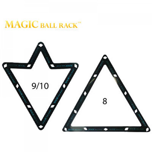 "Magic Rack 2 1/4"" (for 8, 9 or 10 ball)"