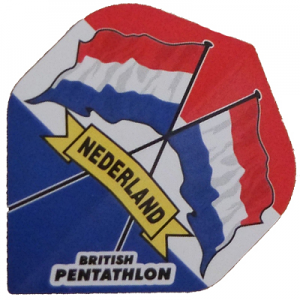 British Pentathlon Flights - Nederland Flags
