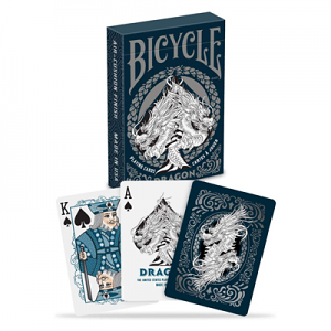 Single Deck Bicycle Dragons Playing Cards