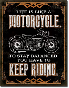 National Life is Like a Motorcycle