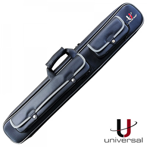 Universal Luxury 2 Butt / 4 Shaft Cue Case Grey