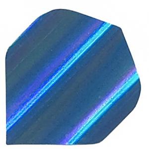 Polyester Foil Flights - Blue