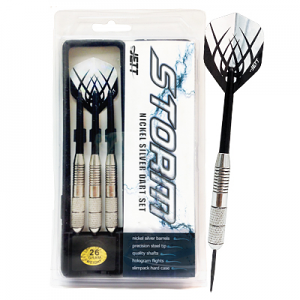 Jett Storm Nickel Silver Dart Set